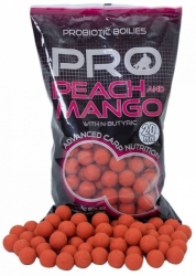 Boilies Starbaits Probiotic Peach&Mango 14mm 1kg