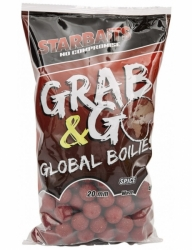 Boilies Starbaits Grab&Go GLOBAL 20mm 1kg