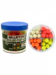 Haldorado Quatro Fluo Pop Up boilies 50g