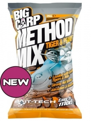Bait-Tech Big Carp Method Mix Tiger&Peanut  2kg