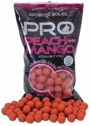 Boilies Starbaits Probiotic Peach&Mango 20mm 2,5kg