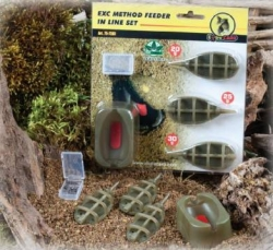 Method Feeder Set Extra Carp 3+1