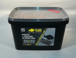MILLENIUM FISHING Practic Feeding Mix 3kg vo vedre + 100ml booster!