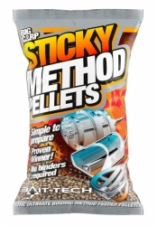 Pelety Bait-Tech Sticky Method Pellets micro 800g