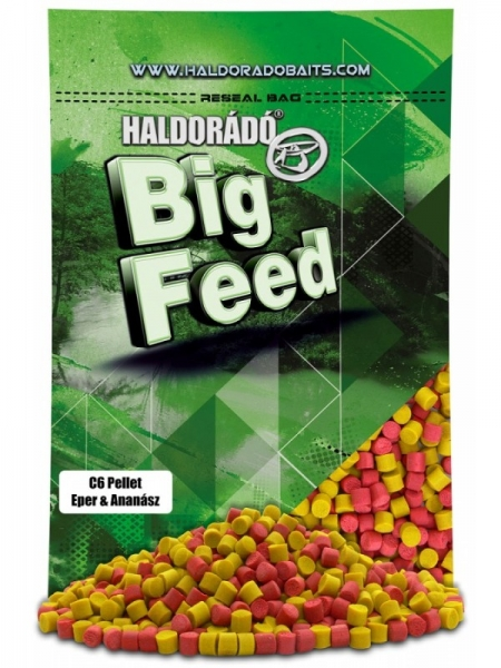 Haldorado Big Feed C6 pellet 900g