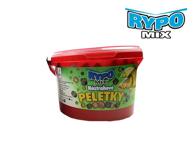 Rypo Mix RED HALIBUT pelety 2kg 14mm (s dierkou)